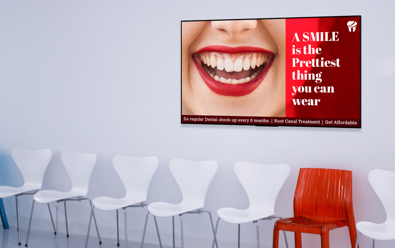 dental clinic signage boards