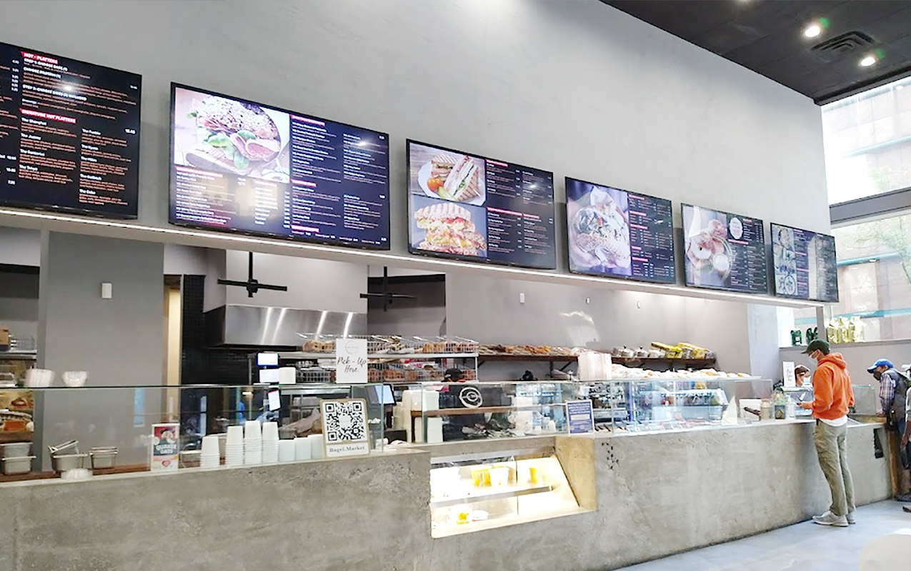 digital menu boards solutions