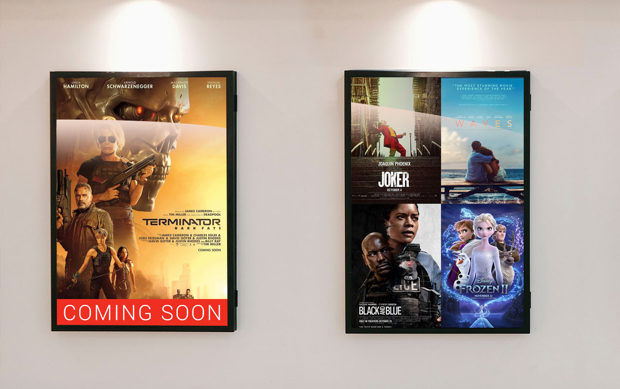 digital movie signage
