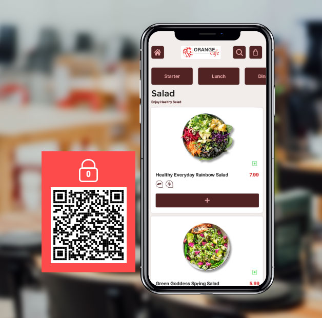 update your menu with same qr code