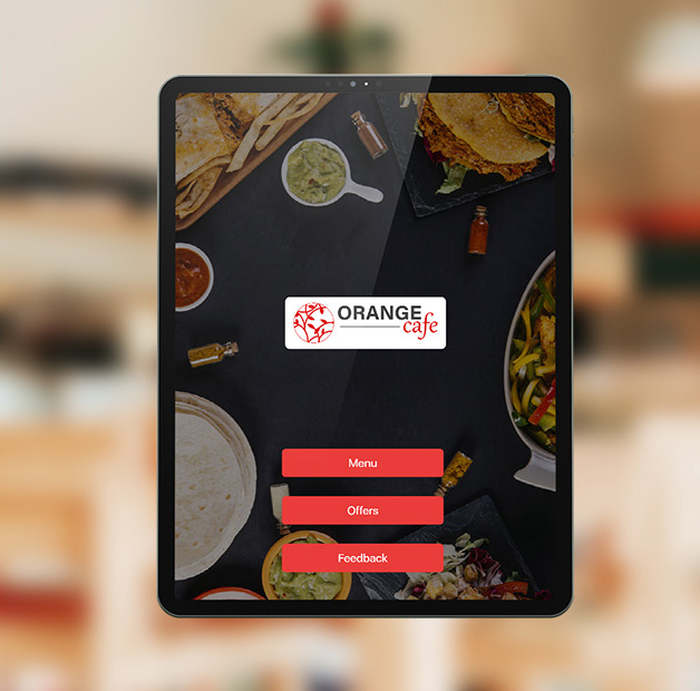 why voolsy screen in digital menu